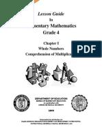Lesson Guide 4 - Book 4 - Comprehension of Multiplication v0.2.pdf