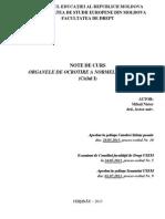 020 - Organele de Ocrotire a Normelor de Drept