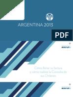 Argentina2012 Proceso Facturas