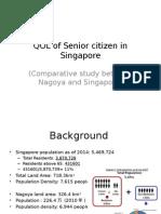 QOL of Senior Citizen in Singapore