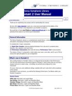 VSL PerfTool Manual v2 K2 MULTI-e