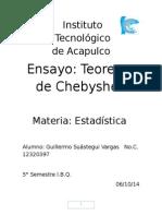 Ensayo Teorema de Shevysev Guillermo Suástegui Vargas