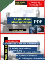 Pollution atmosphérique Yamoun Assia