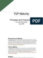 P2P Maturity