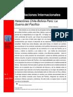 Relaciones Chile, Bolivia y Peru