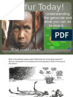 genocide in darfur powerpoint with notes in it