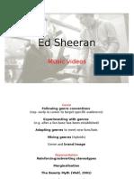 Ed Sheeran Analysis Music Vid
