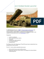 BM-30 Smerch Multiple Rocket Launcher