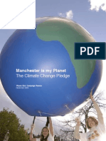 Manchester is My Planet the Climate Change