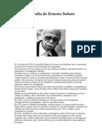 Breve Biografía de Ernesto Sabato