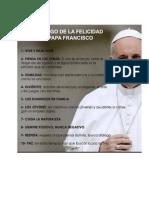 Decalogo Papa Francisco