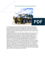 BTR-90 Armoured Personnel Vehicle