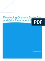 DECC Report on Facts of On-Shore Frack 2010