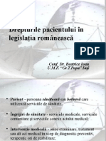 Drepturile Pacientului in Legislatia Romaneasca 2