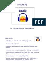 Catedra 1, tutorial audacity
