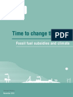 Fossil Fuel Climate Change 2013
