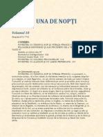 1001 de nopti (volumul 10)