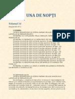 1001 de nopti (volumul 14)
