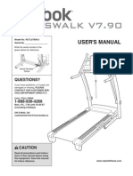 Reebok Crosswalk v7.90 User's Manual