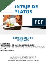 Montaje de Platos