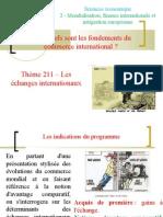 Thème 211 - Les échanges internationaux.ppt