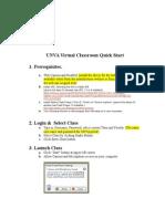 UNVA Virtual Classroom QuickStart (2)[1]