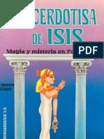 Edouard Schure - La Sacerdotisa de Isis