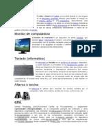 LAS PARTES DE UNA COMPUTADORA Y DISPOSITIVOS DE ENTRADA Y SALIDA.docx