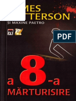 Patterson, James - A 8-A Marturisire