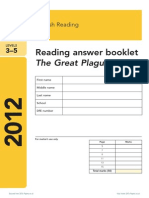 2 Ks2 English 2012 Reading Answer Booklet