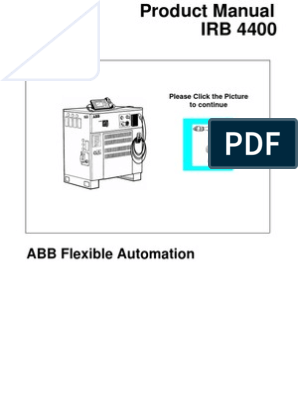 S4C-Product Manual IRB 4400 3HAC 2932-1 Rev.2 M98 ... on