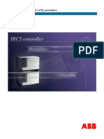IRC5-IRC5 Product Procedures Manual 3HAC021313-001_part1_revA_en