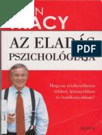 Brian Tracy Az Eladas Pszichologiaja