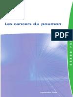 Les cancers  du poumon
