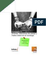 Informe de Investigación Noviazgos Trama-IADEPP 2014