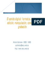 Tema Sonido Digital Presentacion