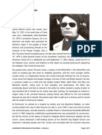 Biography of Jim Jones by Aderonke Ogunsakin