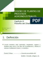 Diseño de Plantas Cap III - 2012