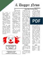 Pilcrow and Dagger Sunday News 2-1-2015
