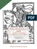 Guía Didáctica de Amadis de Gaula