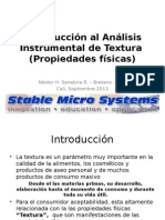 Introduccion Analisis Instrumental Textura