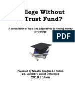 Senator Peters' Scholarship Guide 2010