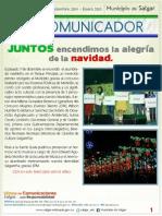 Periódico Digital Mensual Edición 21, Mes de Diciembre 2014 y Enero 2015