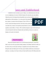 ece 497 periods of development  infancy and toddlerhood fact sheets