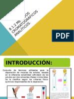 8.1.2 y 8.2 Cromatografia de Analisis
