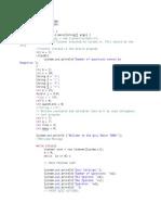 code fragment sample