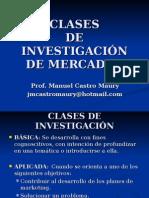 Clases de Investigaci n