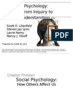 Lilienfeld Et Al Textbook LecturePPTCh13 Social Psychology