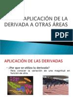 APLICACIÓN DE LA DERIVADA A OTRAS ÁREAS (1).ppt