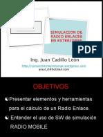Simulación de Radio Enlaces - Radio Mobile